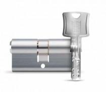 Cylindre européen de sûreté : Cylindre double - nickelé
