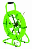 Conduit et canalisation : Aiguille en polyester avec tête rotative sur dévidoir