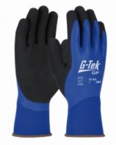 Gants enduits latex : Gant polyester double enduction latex