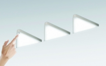 Luminaire led : Kit 3 spots key T