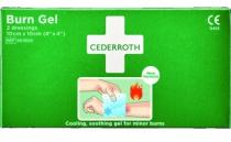 Trousse de secours : Compresses pour brûlure Cederroth