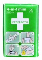 Trousse de secours : Stop-Sang 4-en-1 Mini Cederroth