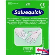 Trousse de secours : Lingettes lave-blessure Salvequick