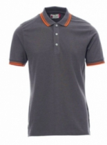 POLO SKIPPER GRIS ORANGE XXXL