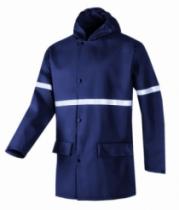 Vêtement de travail : Veste et pantalon de pluie ignifugée et antistatique