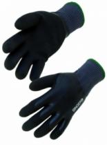Gants hiver : Gant double enduction latex fourré