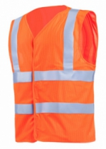 GILET HAUTE VISIBILITE T.XL ORANGE