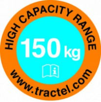 Harnais de sécurité Tractel : Antichute à rappel automatique à câble galva blocfor™ 10 ESD G 150kg