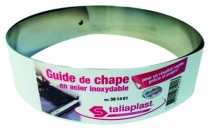 Outil de maçon : Guide de chape en acier inoxydable
