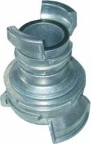 Accessoire d'arrosage et de lavage : Raccord de réduction guillemin avec verrou - Alu