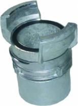 Accessoire d'arrosage et de lavage : Raccord Guillemin avec verrou - Alu