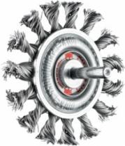 Brosse circulaire à mèche torsadée