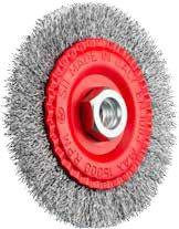 Brosse circulaire en fil ondulé - série 3000