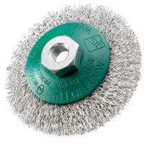 BROSSE CONIQUE 90 FIL INOX ON.0,30