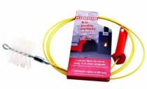 Ramonage : Kit de ramonage pour poêle à pellet et granules
