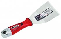 Couteau de peintre : Riflard coudé ROBUST inox
