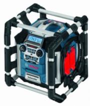 Batterie - chargeur - lampe électro-portatif : Radio de chantier GML 50