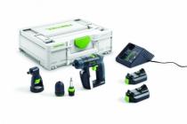 Perceuse-visseuse sans fil : CXS 2,6 Li - Set 10,8 V