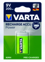 PILE 9V RECHARGEABLE