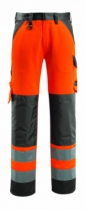 PANTALON HV ORANGE/MARINE T38