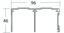 Coulissant meuble bois : Profils coulissants P30