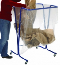 Manutention : Sac poubelle déchets volumineux