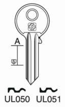 Cylindre européen 5 goupilles : Ébauche de clé Universel