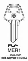 Cylindre européen 5 goupilles : Ébauche clé Meroni