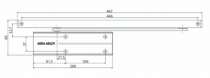 Ferme-porte Vachette : Ferme-porte DC 170
