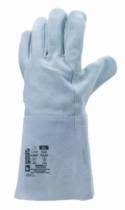 Protection soudeur : Gant cuir croûte de vachette