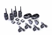 Pack 4 talkie-walkie g7pro + 4ma24l oreillette plate