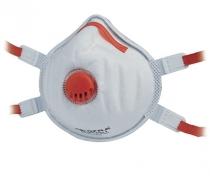 Masque jetable avec soupape FFP3 NR