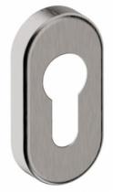 Garniture inox : Rosace de fonction ovale Cylindre