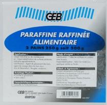 Produits de maintenance : Paraffine