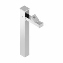 Ferrure de portes et de portails : Arrêt de portail vertical Argent