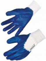 Gant nitrile enduit bleu Singer