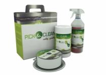 Lingettes Pick et Clean et solution neutralisante Inox Fit