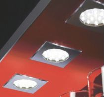 Luminaire led : Kit 3 spots Sign square