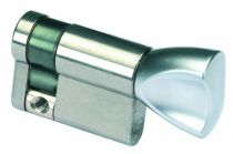 Cylindre européen standard : Demi-cylindre à bouton
