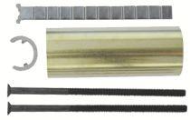 Serrure en applique : Kit de rallonge cylindre