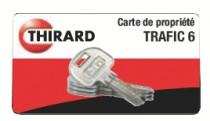 Verrou bouton Thirard : Verrou de haute sûreté Universel Trafic 6