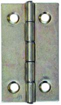 Charnière : Rectangulaire à noeud roulé - axe inox