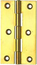 Charnière : Rectangulaire - axe inox