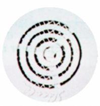 Ventilation : Grille ronde contre-cloison