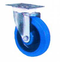 Roulette de manutention : Roue bleue - Mécanic