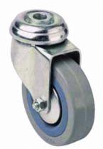 Roulette pour l'équipement des collectivités : Novoplex - à oeil trou ø 10,5