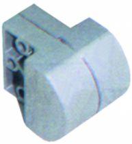 Ferrure pour châssis : Pour châssis basculant - pivot à l'unité