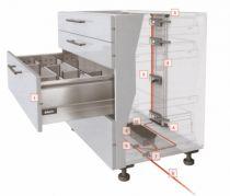 Accessoire pour tiroir antaro\intivo : SERVO-DRIVE