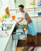Agencement de cuisine : Pack sous évier Blum Tandembox