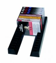 Accessoire audio\vidéo : Paire de baguettes pour cassettes audio - Plastique noir